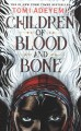 Cover for Children of blood and bone [Large Print]