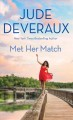 Cover for Met her match [Large Print]