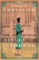 Cover for A single thread [Large Print]