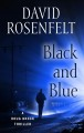 Cover for Black and blue [Large Print]