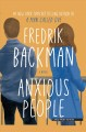 Cover for Anxious people:  a novel [Large Print]