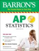 Cover for Barron's Ap Statistics With Online Tests: With Bonus Online Tests