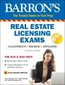 Cover for Barron's real estate licensing exams: salesperson, broker, appraiser