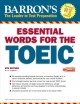 Cover for Barron's Essential Words for the TOEIC