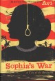 Cover for Sophia's war: a tale of the Revolution