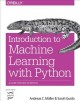 Cover for Introduction to machine learning with Python: a guide for data scientists