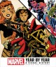 Cover for Marvel year by year: a visual history