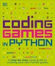 Cover for Coding games in Python.