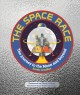 Cover for The space race: the journey to the moon and beyond
