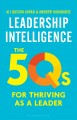 Cover for Leadership intelligence: the 5Qs for thriving as a leader