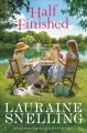 Cover for Half finished: a novel