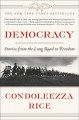 Cover for Democracy: stories from the long road to freedom