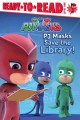 Cover for PJ Masks save the library!