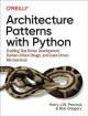 Cover for Architecture patterns with Python: enabling test-driven development, domain...