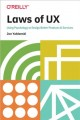 Cover for Laws of UX: using psychology to design better products & services