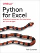 Cover for Python for Excel: A Modern Environment for Automation and Data Analysis