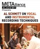 Cover for Al Schmitt on vocal and instrumental recording techniques
