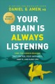 Cover for Your brain is always listening: tame the hidden dragons that control your h...