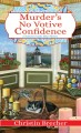 Cover for Murder's no votive confidence: Nantucket candle maker mystery