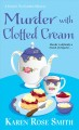 Cover for Murder with clotted cream