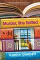 Cover for Murder, She Edited