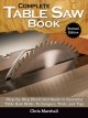 Cover for Complete table saw book: step-by-step illustrated guide to essential table ...