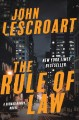 Cover for The rule of law: a novel
