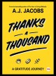 Cover for Thanks a Thousand: A Gratitude Journey