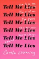 Cover for Tell me lies: a novel