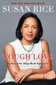 Cover for Tough love: my story of the things worth fighting for