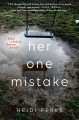 Cover for Her one mistake