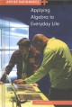 Cover for Applying algebra to everyday life