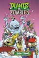 Cover for Plants vs. zombies. Snow thanks