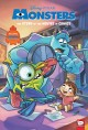 Cover for Disney/Pixar Monsters Inc. and Monsters University: The Story of the Movies...
