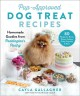 Cover for Pup-approved dog treat recipes: homemade goodies from Paddington's pantry