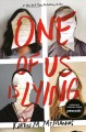 Cover for One of us is lying
