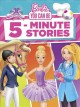 Cover for Barbie you can be 5-minute stories.