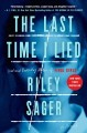Cover for The last time I lied: a novel
