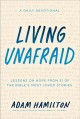 Cover for Living Unafraid: Lessons on Hope from 31 of the Bible's Most Loved Stories