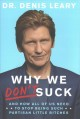 Cover for Why we don't suck: and how all of us need to stop being such partisan littl...