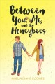 Cover for Between you, me, and the honeybees