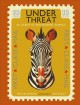 Cover for Under threat: an album of endangered animals