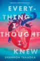 Cover for Everything I thought I knew