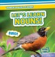 Cover for Let's learn nouns!