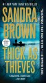 Cover for Thick as thieves: a novel [Large Print]