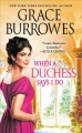 Cover for When a duchess says I do
