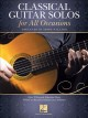 Cover for Classical Guitar Solos for All Occasions