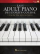 Cover for Easy Adult Piano Beginner's Course: A Step-by-step Learning System; Downloa...