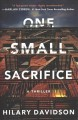 Cover for One small sacrifice