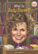 Cover for Who is Judy Blume?